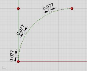 Arc parameterization